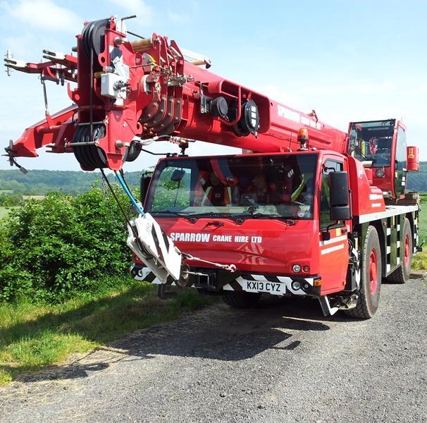 crane hire Terex