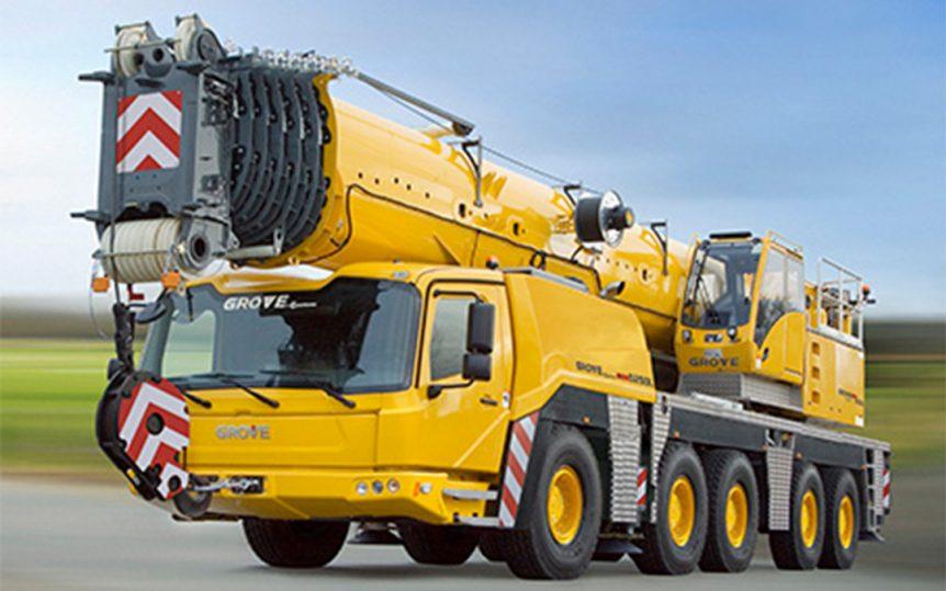 Mobile Crane GMK5250L-1