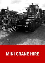 Mini Crane Hire