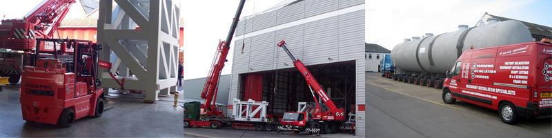 additional equipment crane hire