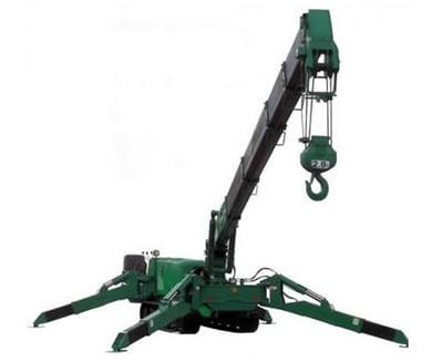 Maeda MC305C Spider Crane