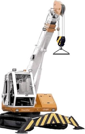 Starlifter crane