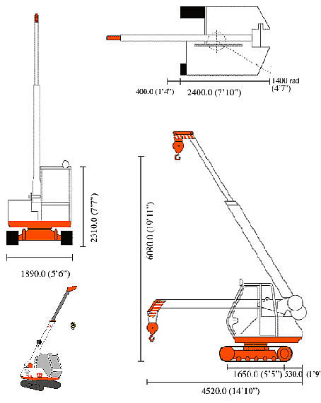 STARLIFTER CX-3T CRANE specifications
