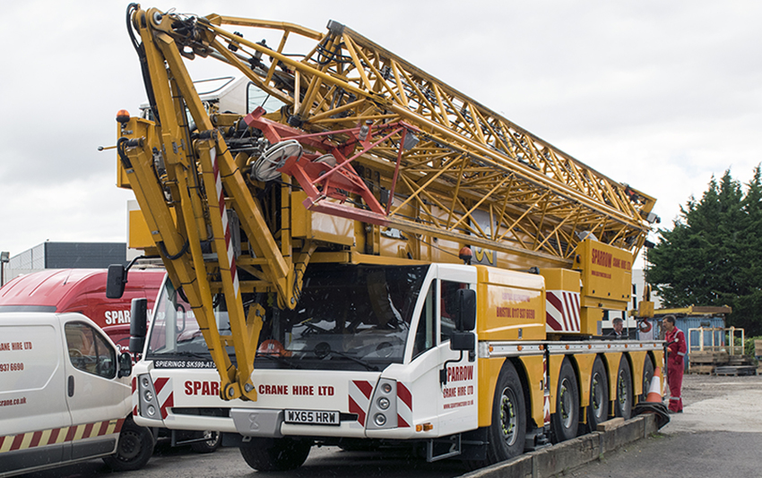 Spierings SK599-AT5 MOBILE CRANE