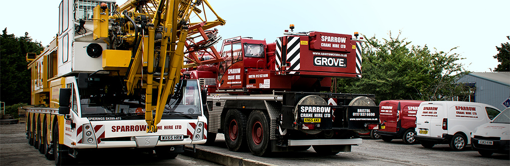 Sparrow Crane Hire Consultancy
