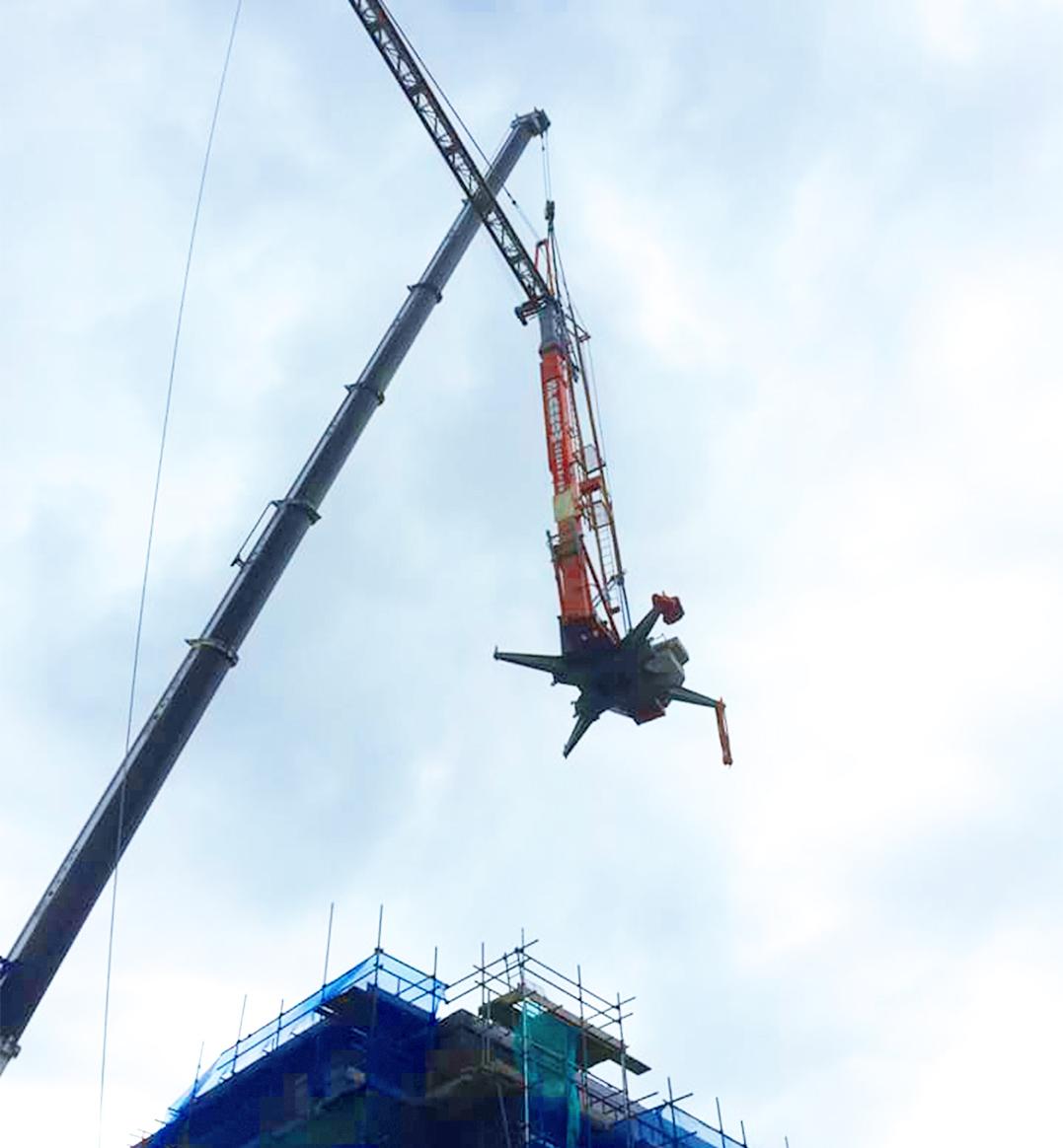 Self Erecting Tower Crane Bristol