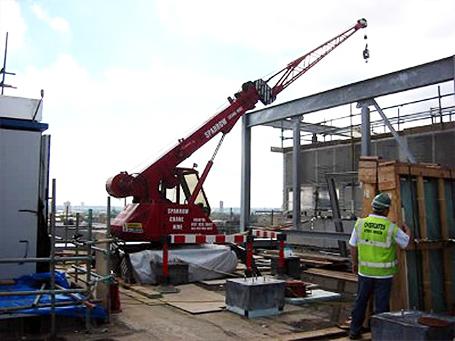 Rooftop Mini Crane