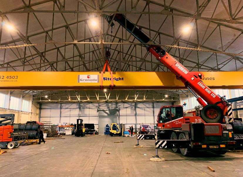 Demag city crane all terrain