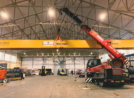 Demag City Crane Melksham, Wiltshire
