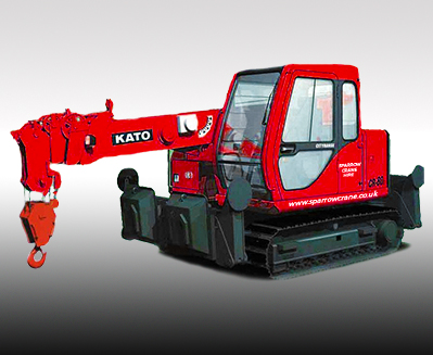 KATO CR-80c Mini Tracked Crane Hire