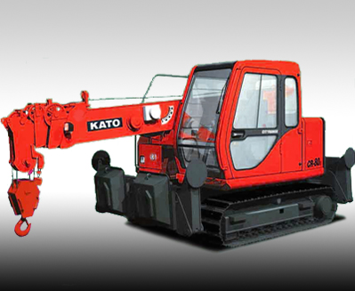 KATO CR-80c mini crawler crane