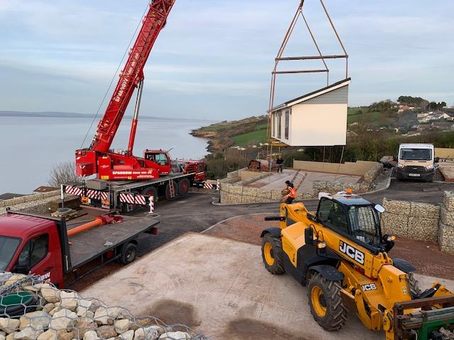 Demag Crane Chalet lift Clevedon