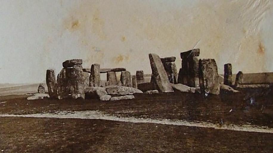 Stonehenge in 1877