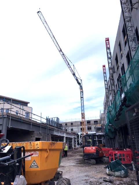 Liebherr 81k Self Erecting Tower Crane