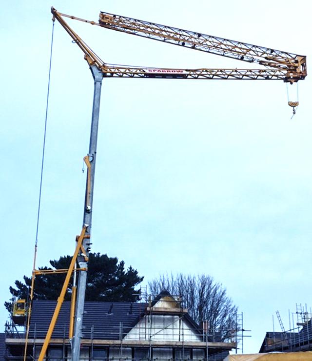 Self Erecting Crane