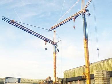 Liebherr 32 TT Self Erecting Tower Crane