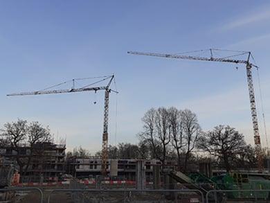 Liebherr 81 K Self Erecting Tower Crane