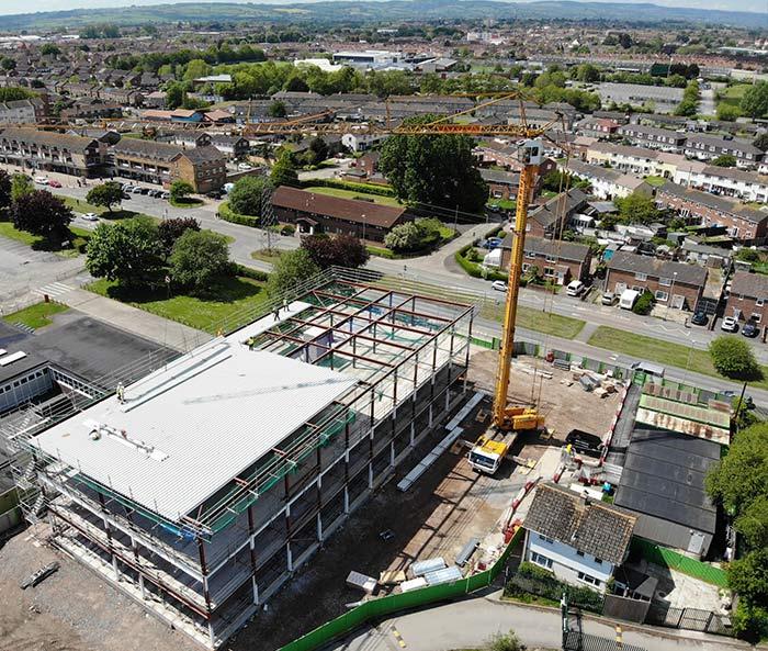 Roofing Crane & Cladding