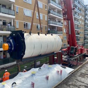 Crane Lift Pimlico