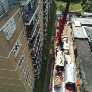 Crane-Lift Pimlico London