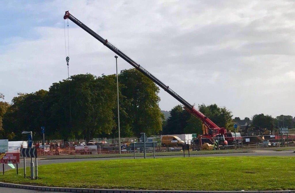 Crane hire Quedgeley Gloucester