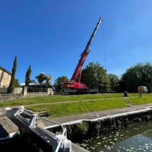 Crane hire Weston Lock Bath