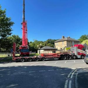 Crane lift Bath