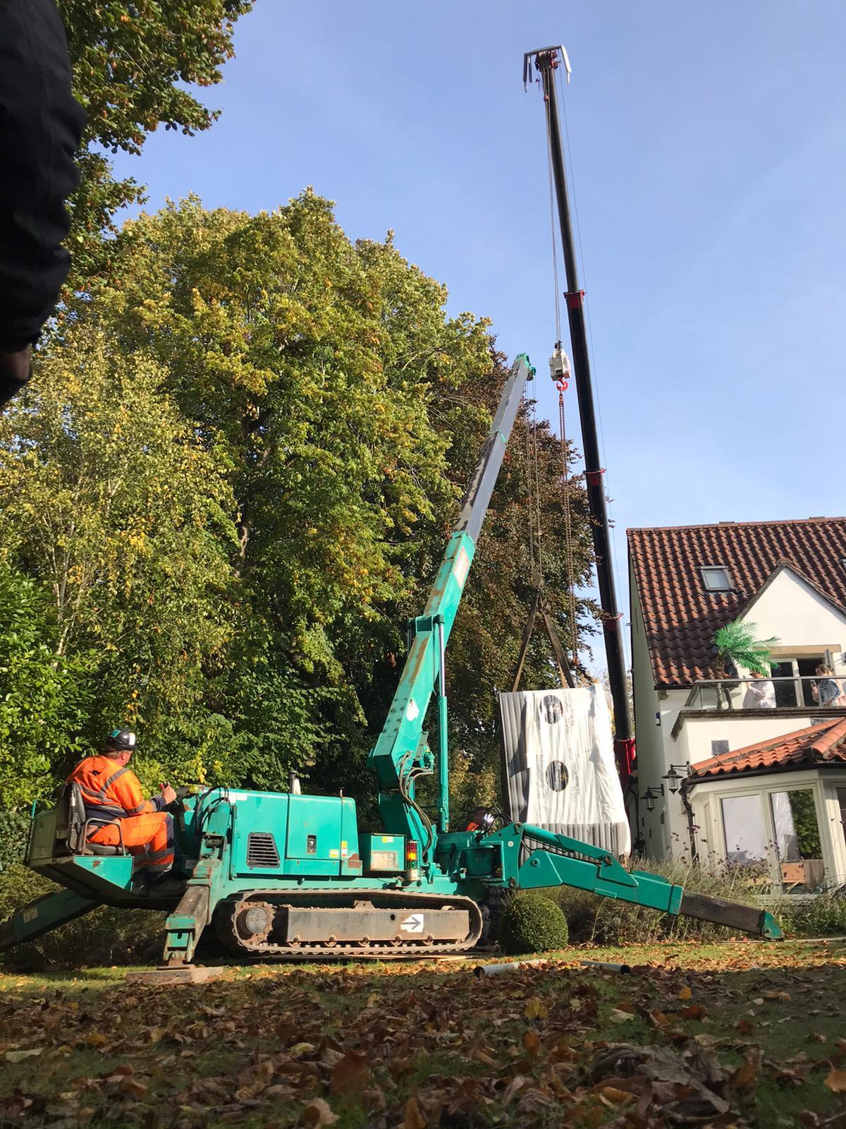spider crane lifts