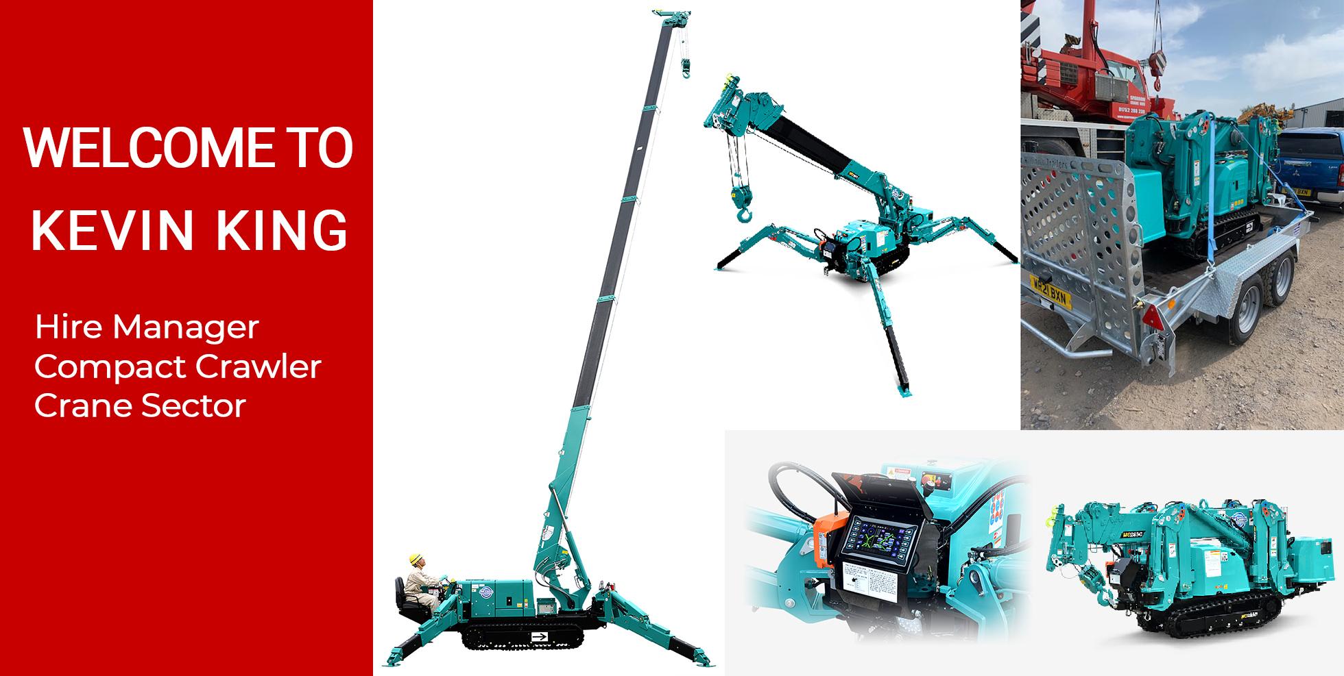 manager compact crawler crane sector